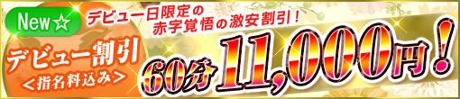 ★デビュー割引★デビュー日限定!赤字覚悟の激安価格!